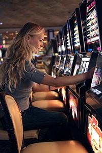 Casino - Spelar slots